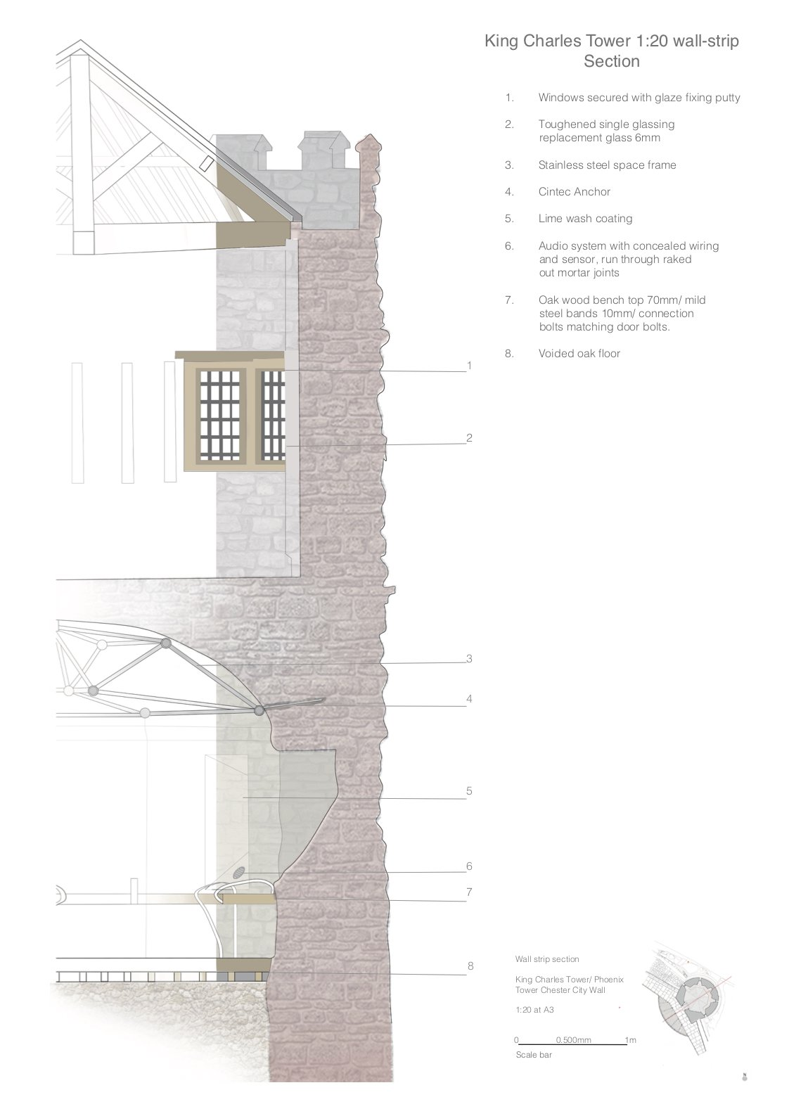 Neil Palmer_Annotated Drawings_King Charles Tower_Section.jpg
