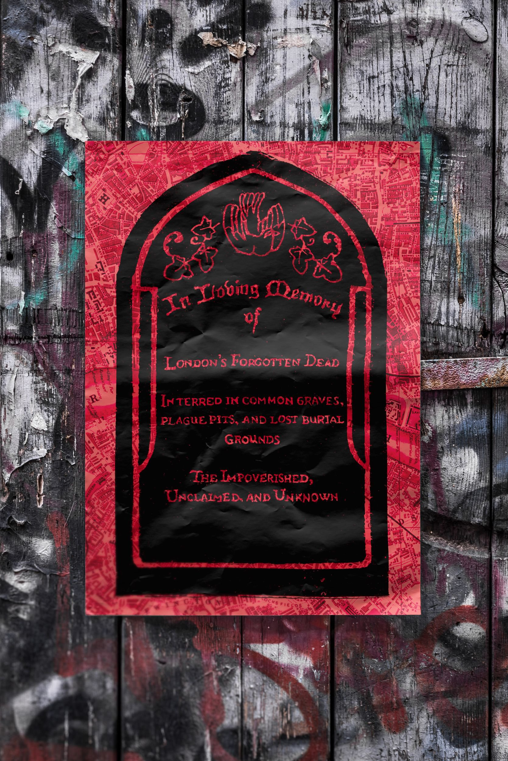 Shannon Johnston Howes_ Finding Stories_Forgotten Dead Gravestone Street Poster.jpg
