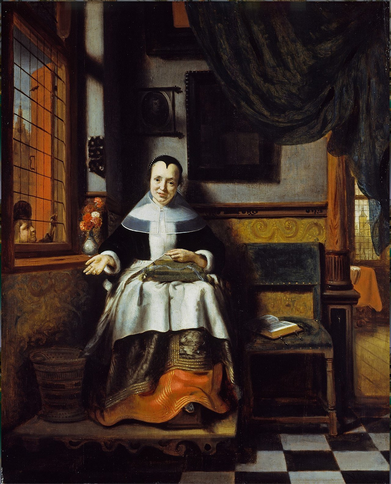 The Virtuous Woman, Nicolaes Maes, 1655.jpg